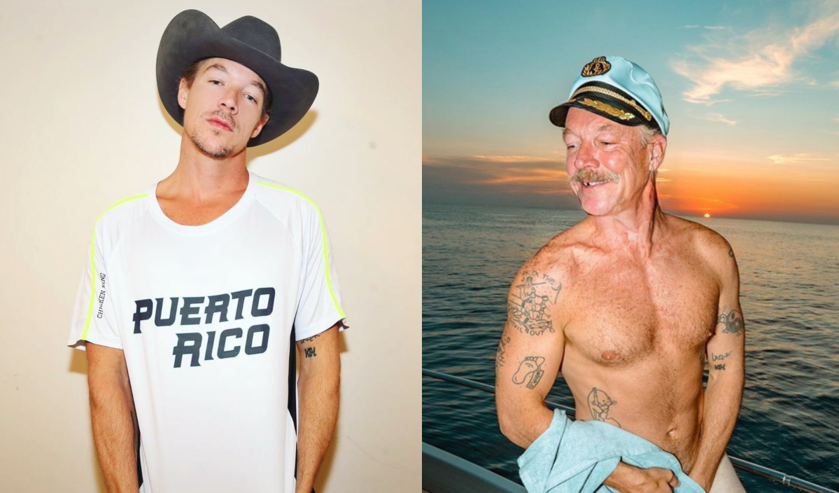 diplo with the aging filter