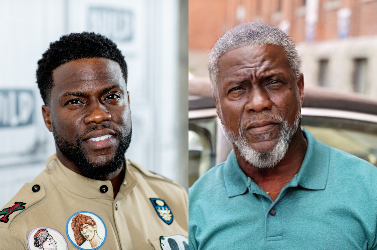 kevin hart with the faceapp aging filter