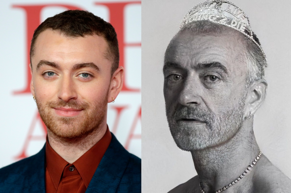 sam smith with the aging filter