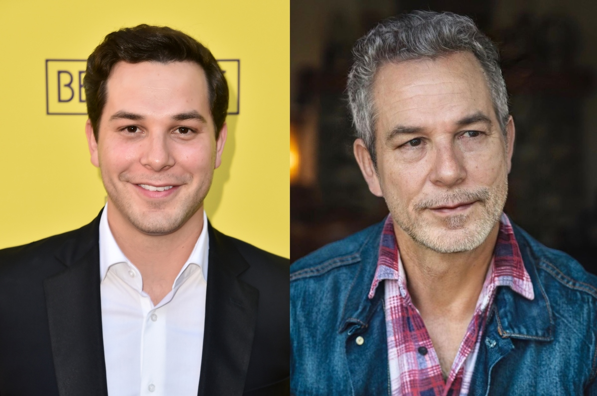 skylar astin with the aging filter