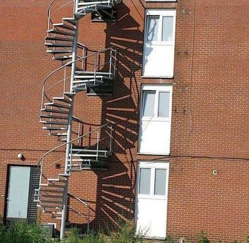 stairs that lead nowhere