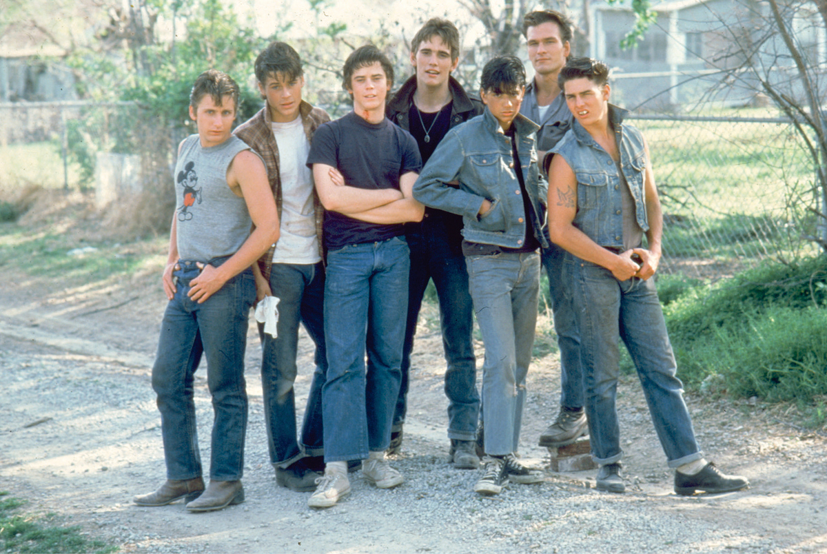the-outsiders was a big break in the career if emilio estevez
