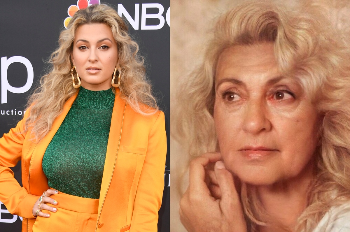 tori kelly with the aging filter