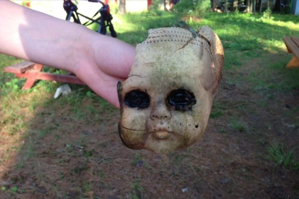 Creepy Doll Head From Your Nightmares