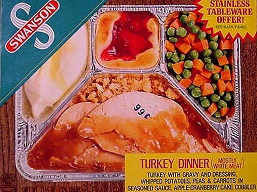 Swanson TV dinner