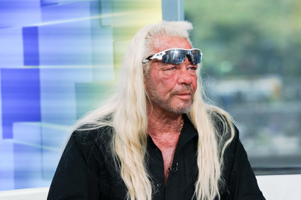TV personality Duane Chapman aka Dog the Bounty Hunter visits