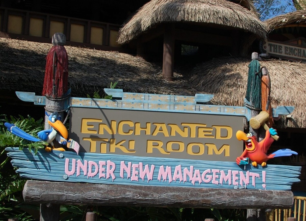 Enchanted Tiki Room (Under New Management)