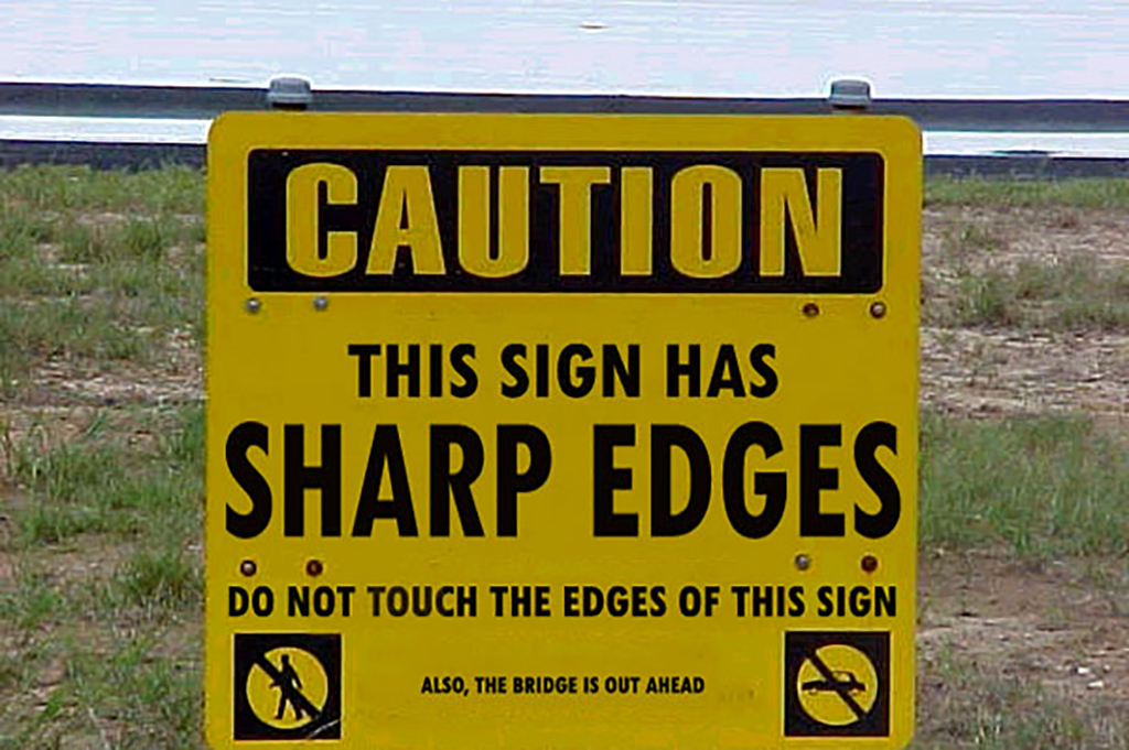 Sharp sign