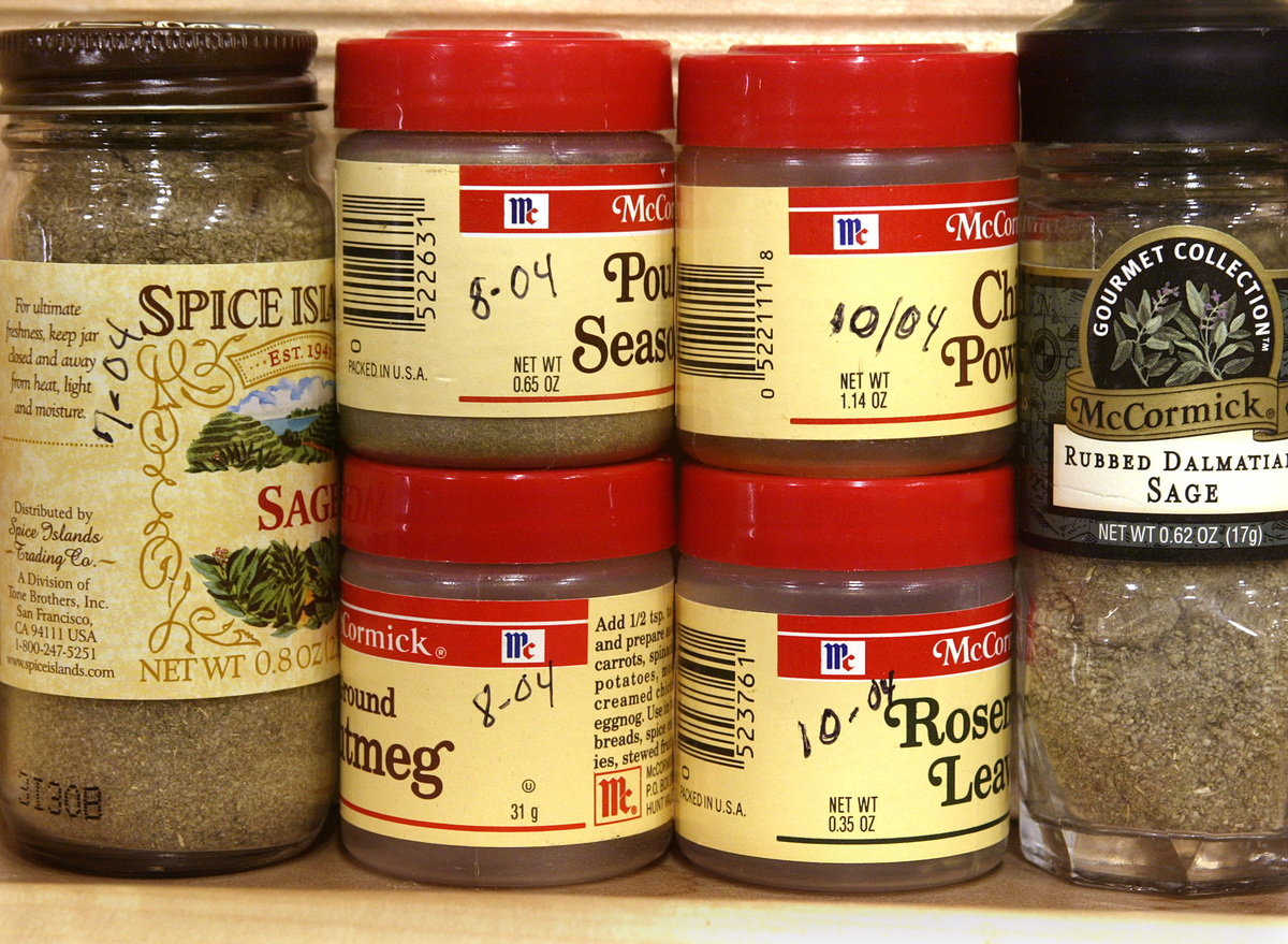 For the food section, As part of the kitchen tune-up, check spices for freshness.