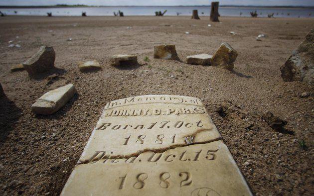 Lost Civilization Rising From Lake Buchanan