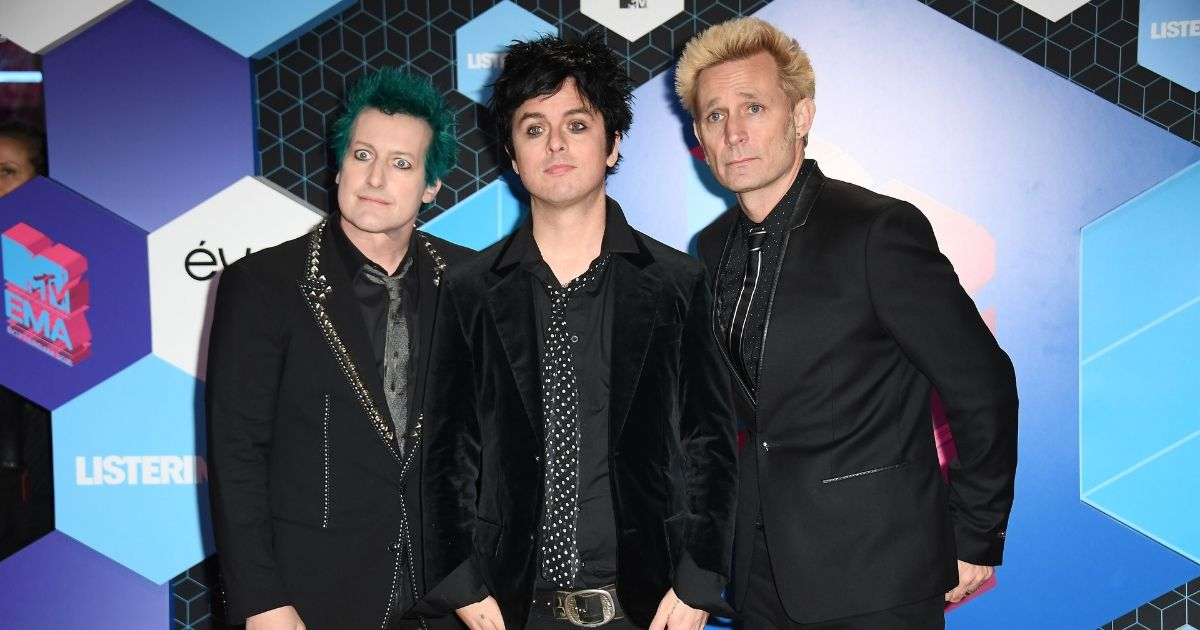 Green Day attend the MTV Europe Music Awards 2016