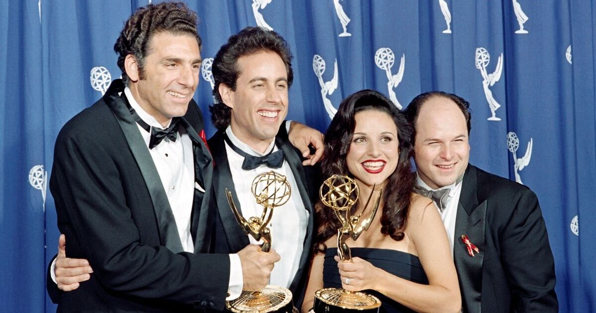 The cast of the Emmy-winning
