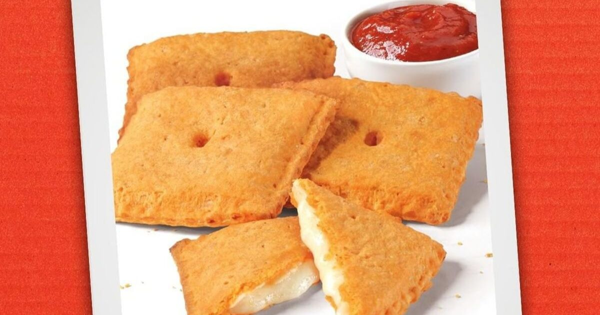 Pizza Hut's Cheez-It Stuffed Pizza