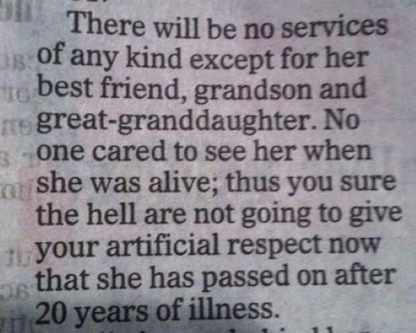 Never Scorn Someones Grandma