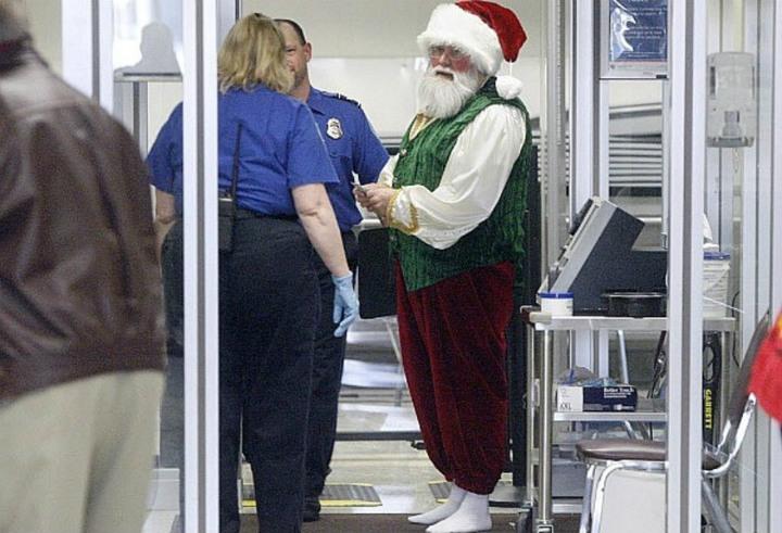 Looks Like Santa Was Put On His Own Naughty List