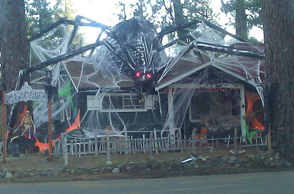 Giant spider house