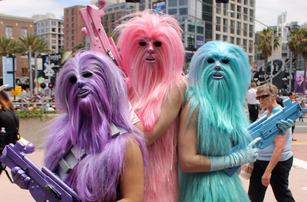 Female Wookiees