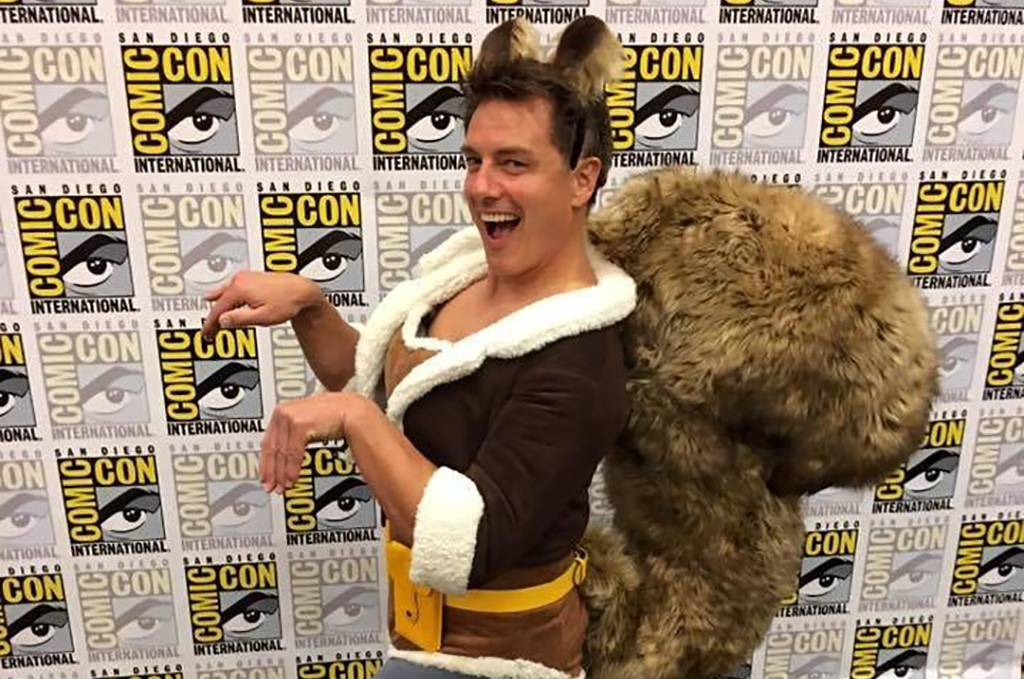 John Barrowman as Squirrel Girl