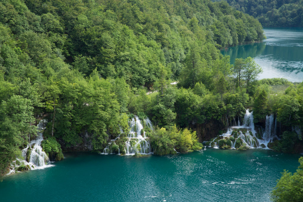 mysterious plitvice lake