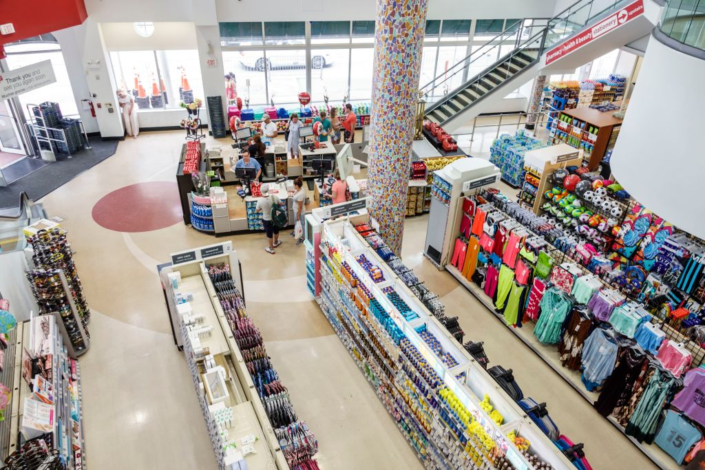 Interior of Walgreen's