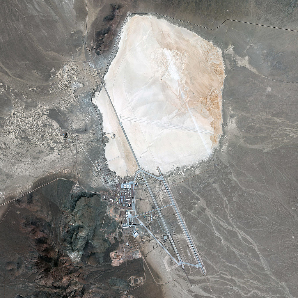mysterious groom lake in nevada