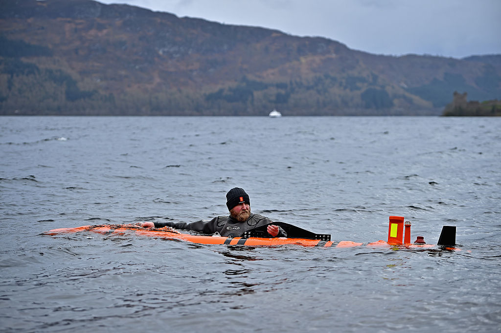 mysterious loch ness in scotland