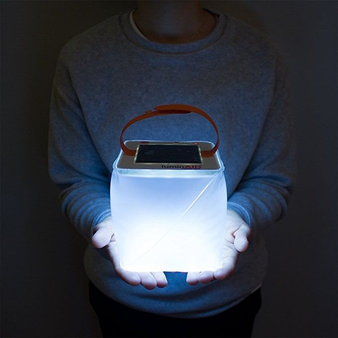 The LuminAid Is The Perfect Lantern For Post-Campfire Activities