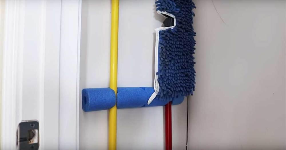 Organize Your Broom Closet