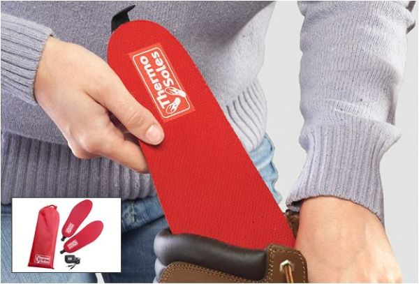 These ThermaCELL Heated Insoles Are The Best Winter Accessory