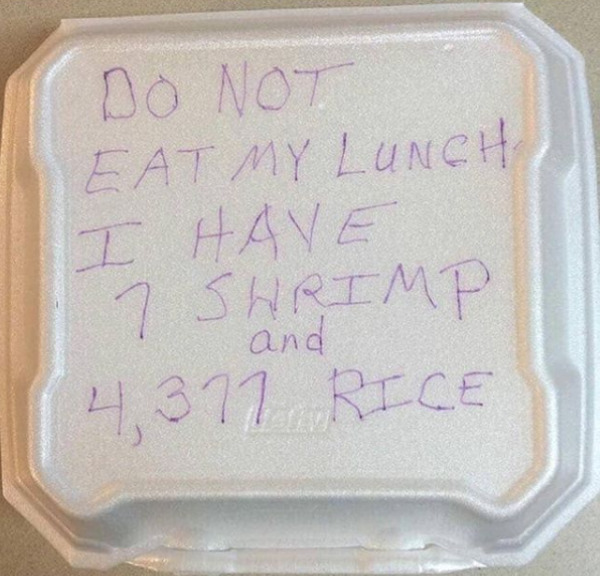 Counting The Rice Must Have Taken A Hot Minute