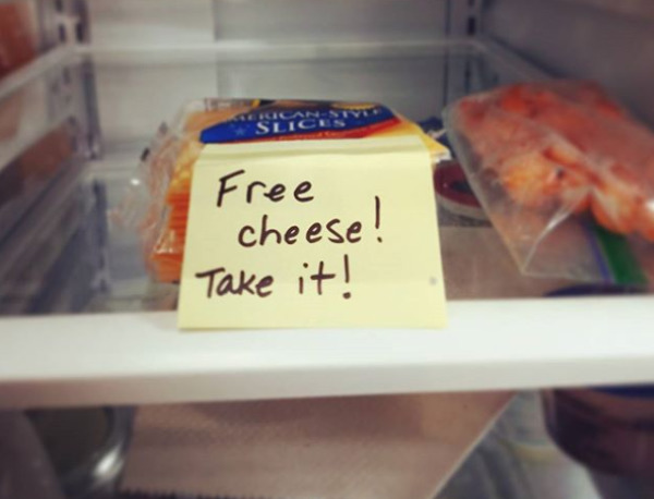 Free Cheese Is The Best Cheese