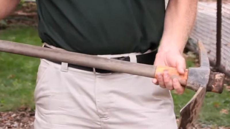 Matthew Broke Through The Safe With A Pickaxe