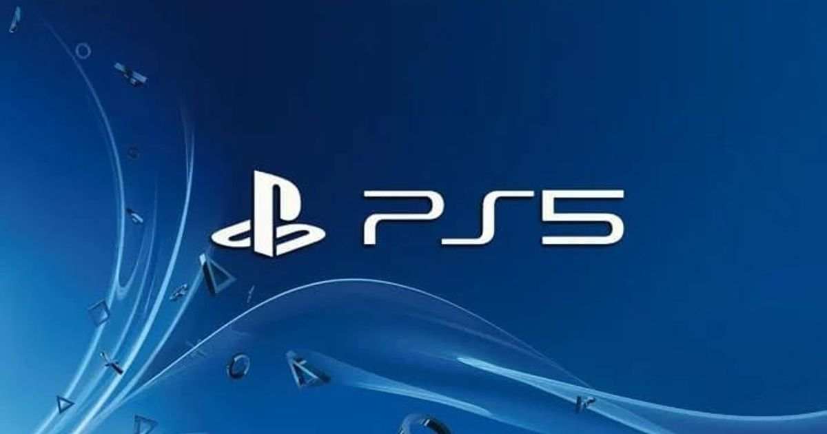 The logo for PlayStation 5