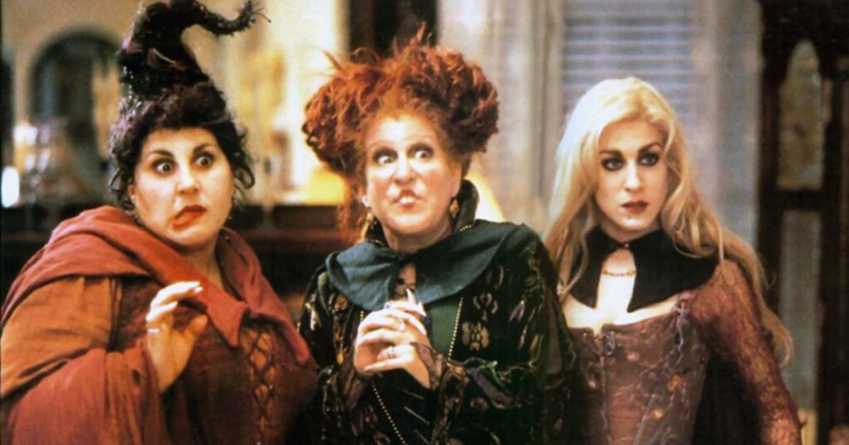 The three witches from the film Hocus Pocus
