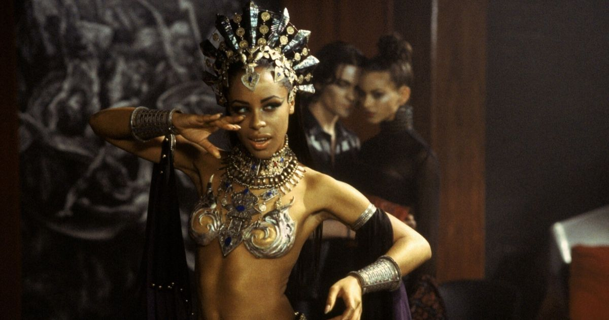 Aaliyah stars as Akasha in horror movie Queen of the Damned