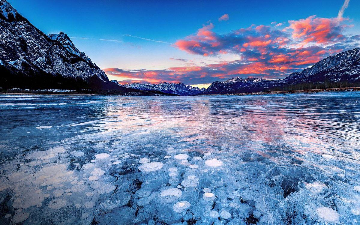 mysterious lake abraham canada