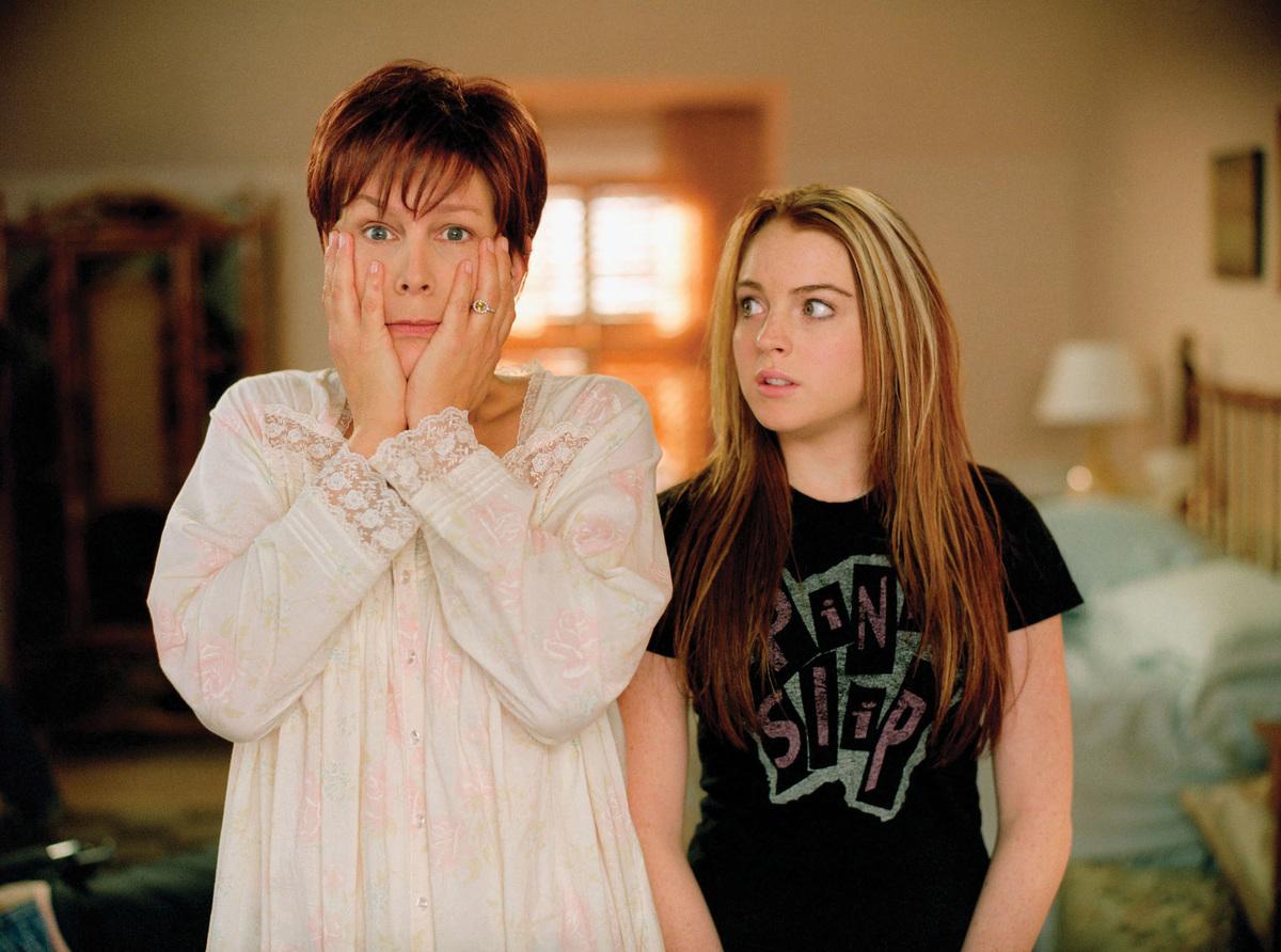 Jamie Lee Curtis and Lindsay Lohan