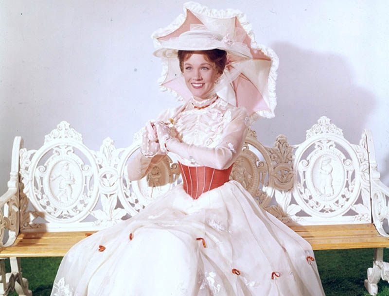 Promo shot of Julie Andrews