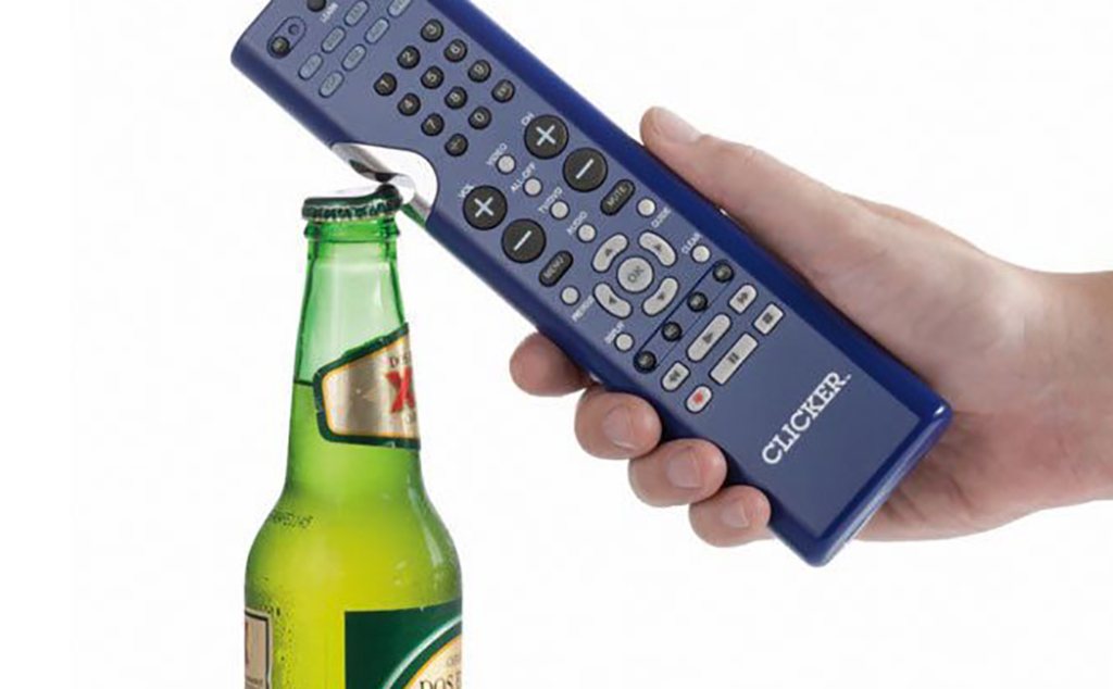 Remote opening bottle