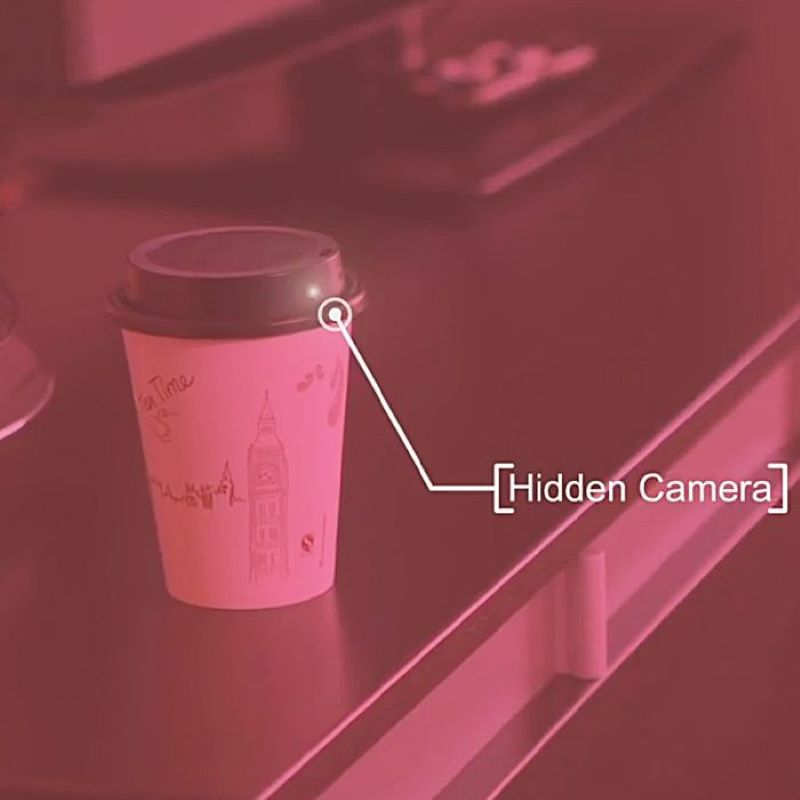 Stealth Camera Lens Finder