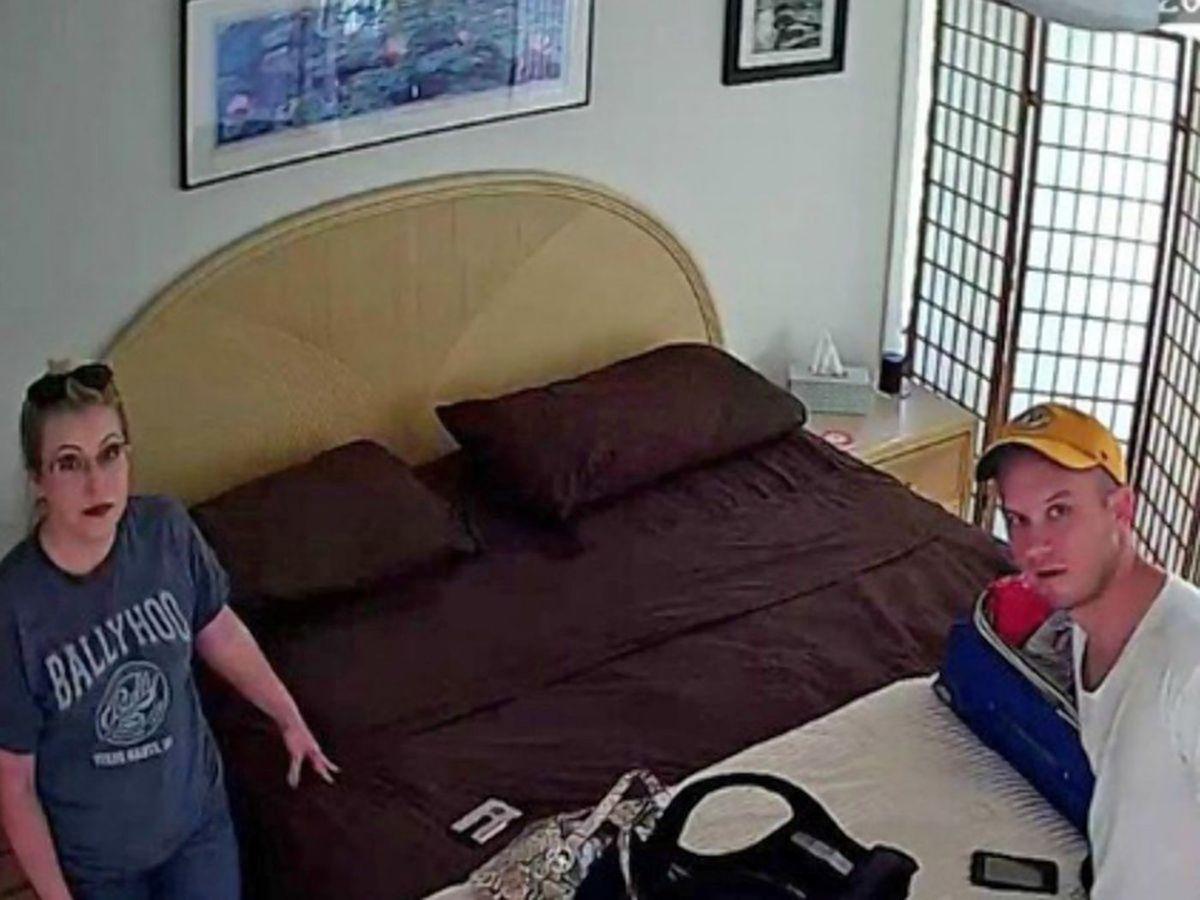 hidden camera in wall