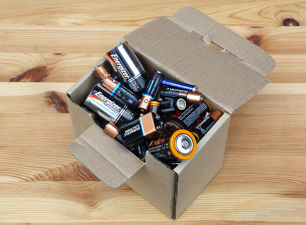 a collection of batteries