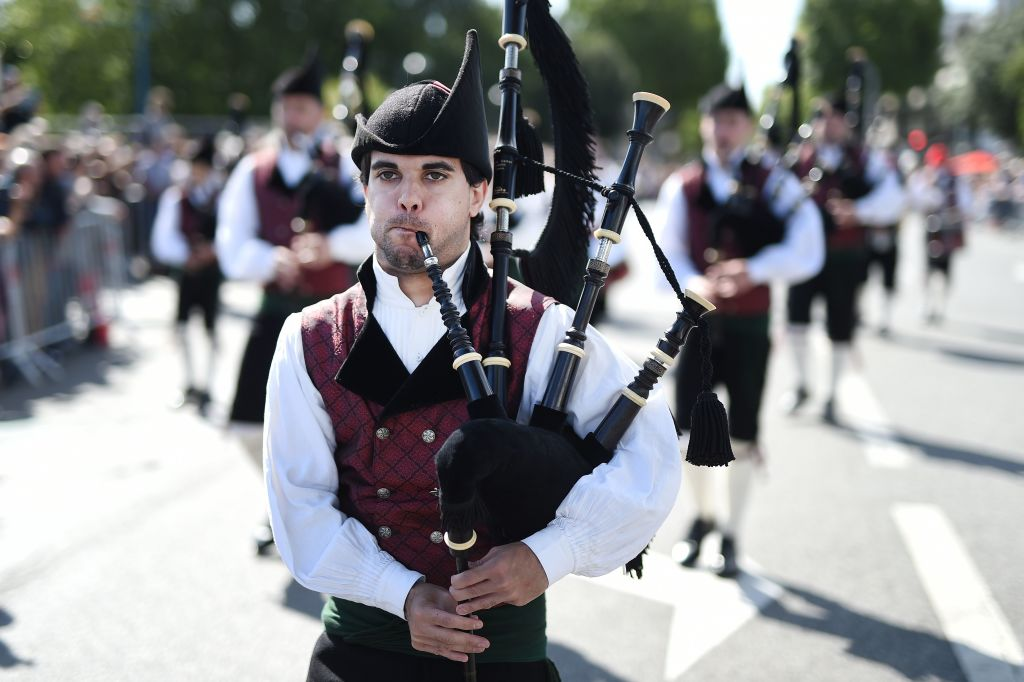 Bagpipes Are Scottish