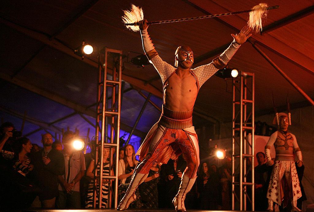 The KA Cirque du Soleil performance