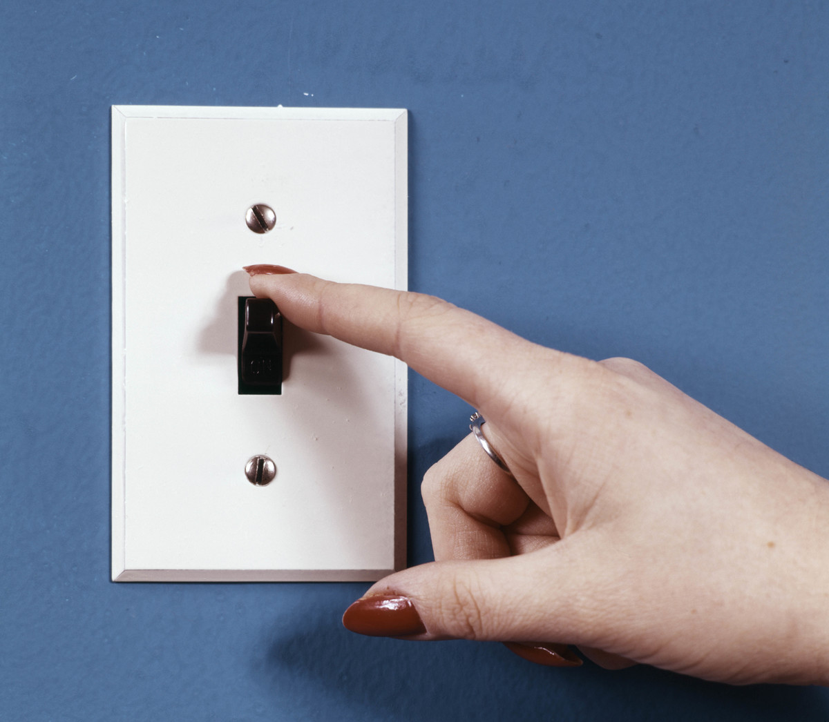 flipping a light switch