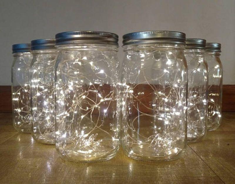 Have The Kids Make Mason Jar Lights