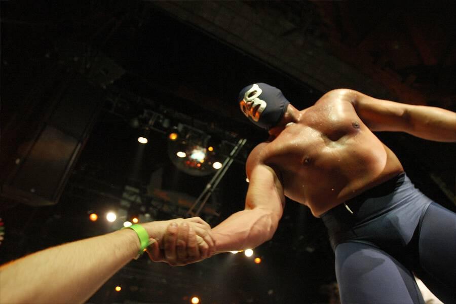 the black demon wrestler