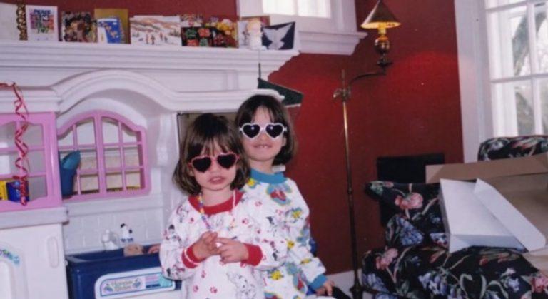 gianna and rodica wearing sunglasses