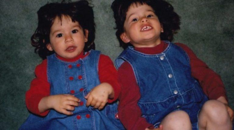 sophie and sister as kids