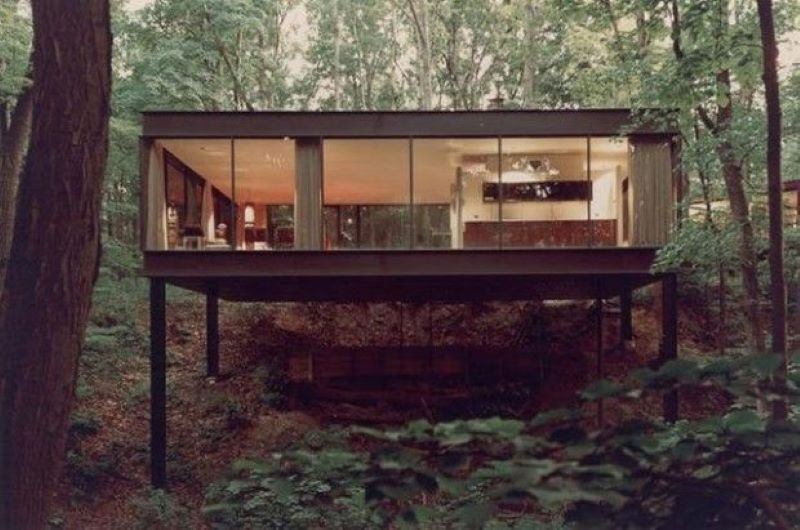 Ferris Bueller's Day Off All-Glass Forest House